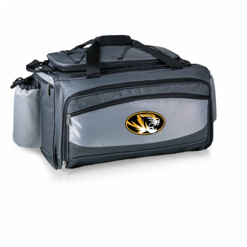Missouri Tigers - Vulcan Portable Propane Grill & Cooler Tote Perspective: back