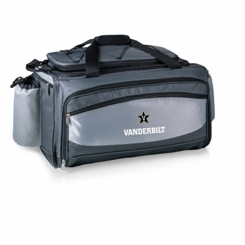 Vanderbilt Commodores - Vulcan Portable Propane Grill & Cooler Tote Perspective: back