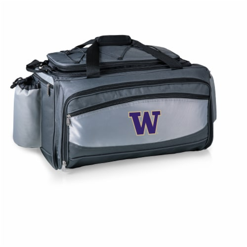 Washington Huskies - Vulcan Portable Propane Grill & Cooler Tote Perspective: back