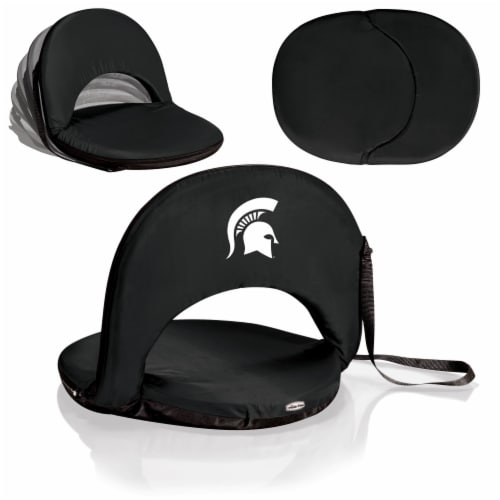 Michigan State Spartans - Oniva Portable Reclining Seat Perspective: back