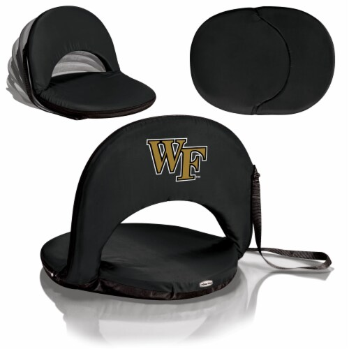 Wake Forest Demon Deacons - Oniva Portable Reclining Seat Perspective: back