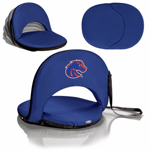 Boise State Broncos - Oniva Portable Reclining Seat Perspective: back
