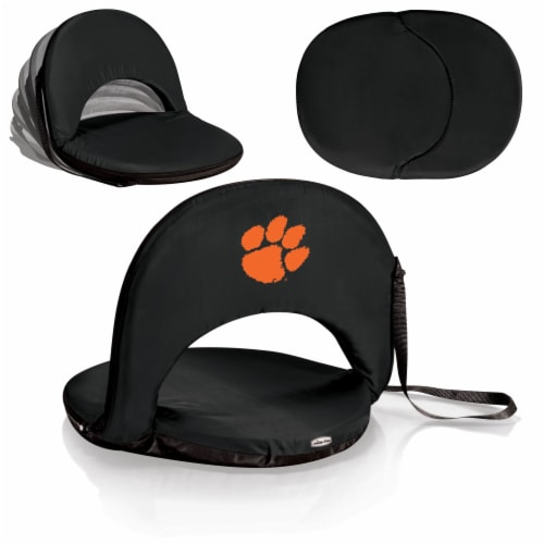 Clemson Tigers - Oniva Portable Reclining Seat Perspective: back