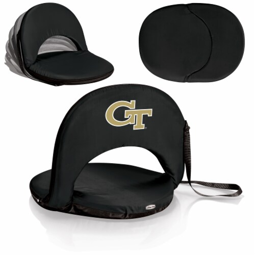 Georgia Tech Yellow Jackets - Oniva Portable Reclining Seat Perspective: back