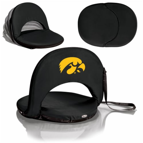 Iowa Hawkeyes - Oniva Portable Reclining Seat Perspective: back