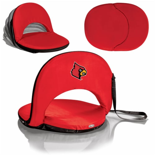 Louisville Cardinals - Oniva Portable Reclining Seat Perspective: back