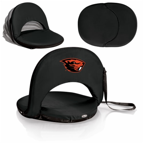 Oregon State Beavers - Oniva Portable Reclining Seat Perspective: back