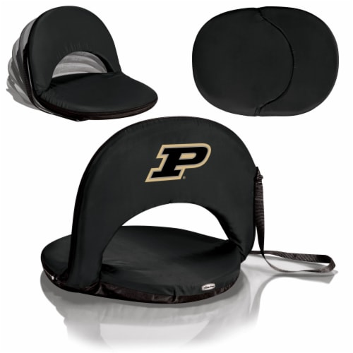 Purdue Boilermakers - Oniva Portable Reclining Seat Perspective: back