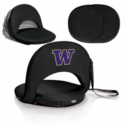 Washington Huskies - Oniva Portable Reclining Seat Perspective: back