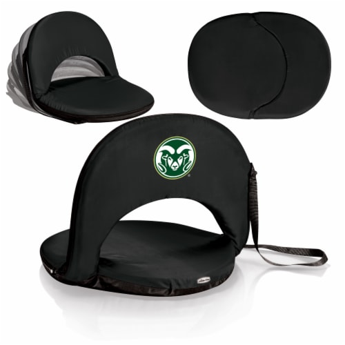 Colorado State Rams - Oniva Portable Reclining Seat Perspective: back