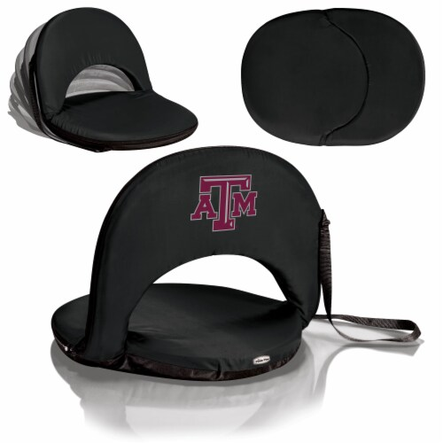 Texas A&M Aggies - Oniva Portable Reclining Seat Perspective: back