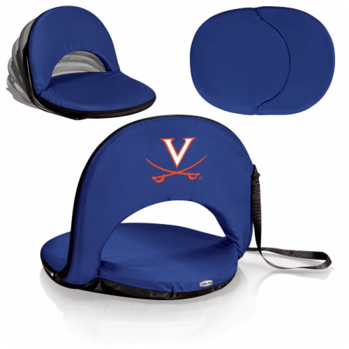 Virginia Cavaliers - Oniva Portable Reclining Seat Perspective: back
