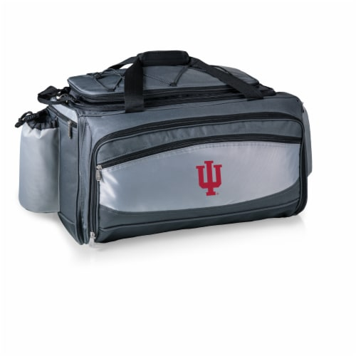 Indiana Hoosiers - Vulcan Portable Propane Grill & Cooler Tote Perspective: back