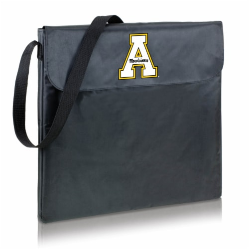 App State Mountaineers - X-Grill Portable Charcoal BBQ Grill Perspective: back