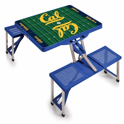 Cal Bears Portable Picnic Table Perspective: back