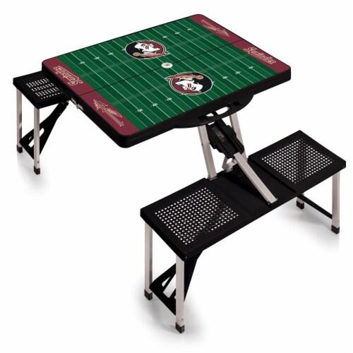 Florida State Seminoles Portable Picnic Table Perspective: back