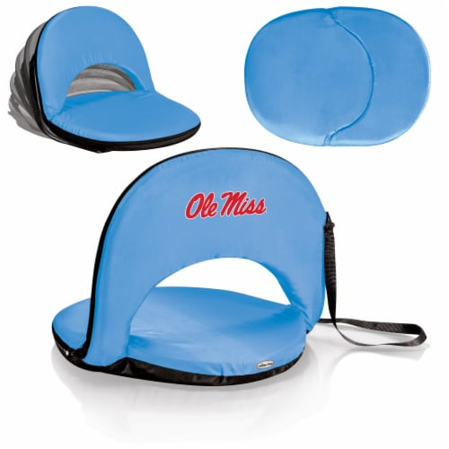 Ole Miss Rebels - Oniva Portable Reclining Seat Perspective: back
