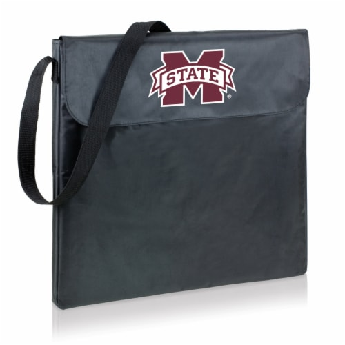 Mississippi State Bulldogs - X-Grill Portable Charcoal BBQ Grill Perspective: back