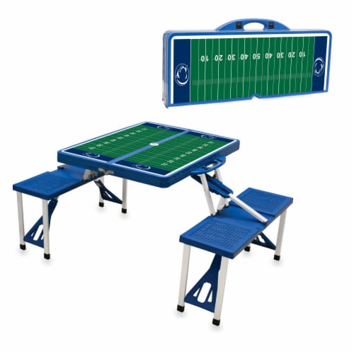 Penn State Nittany Lions Portable Picnic Table Perspective: back