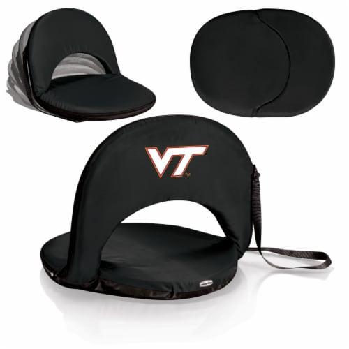 Virginia Tech Hokies - Oniva Portable Reclining Seat Perspective: back