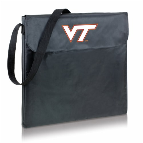 Virginia Tech Hokies - X-Grill Portable Charcoal BBQ Grill Perspective: back