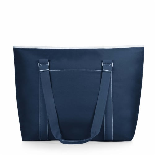 Tahoe XL Cooler Tote Bag, Navy Blue Perspective: back