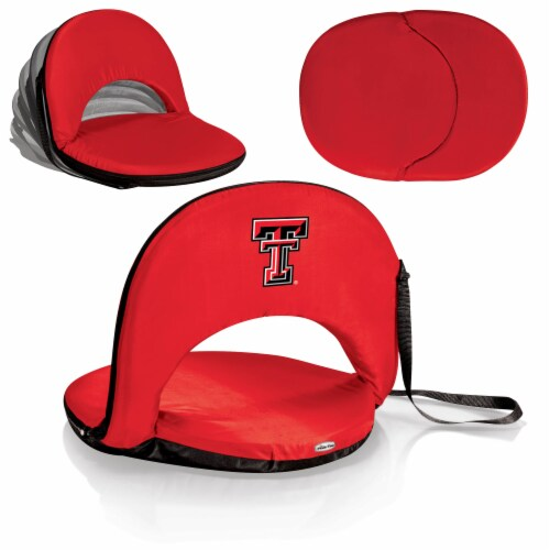 Texas Tech Red Raiders - Oniva Portable Reclining Seat Perspective: back