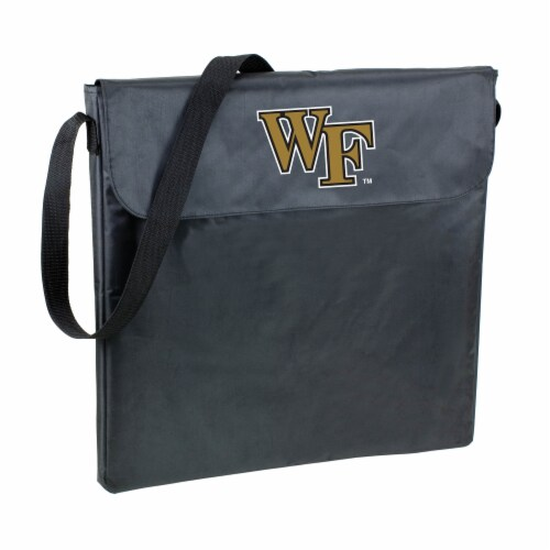 Wake Forest Demon Deacons - X-Grill Portable Charcoal BBQ Grill Perspective: back