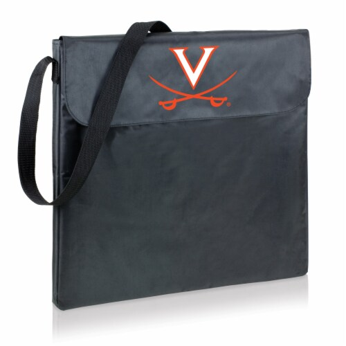 Virginia Cavaliers - X-Grill Portable Charcoal BBQ Grill Perspective: back
