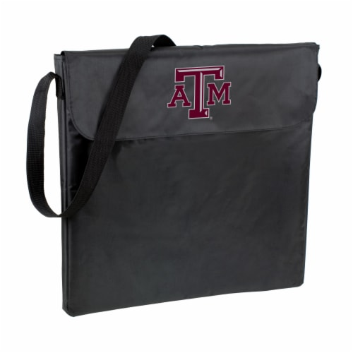 Texas A&M Aggies - X-Grill Portable Charcoal BBQ Grill Perspective: back