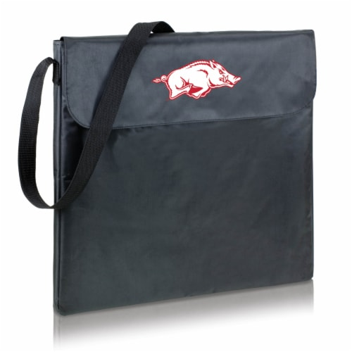 Arkansas Razorbacks - X-Grill Portable Charcoal BBQ Grill Perspective: back