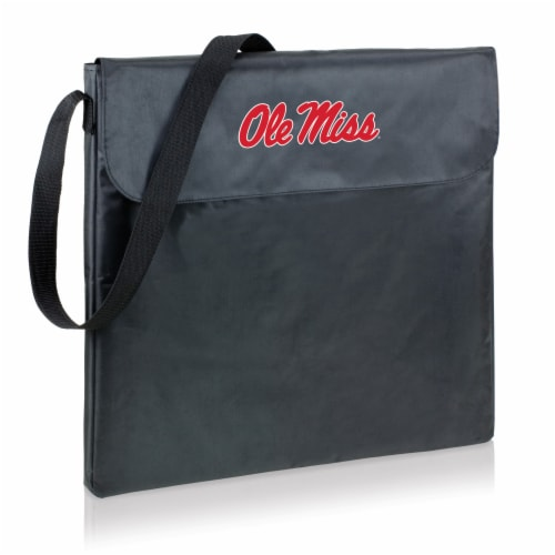 Ole Miss Rebels - X-Grill Portable Charcoal BBQ Grill Perspective: back