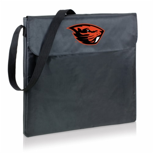 Oregon State Beavers - X-Grill Portable Charcoal BBQ Grill Perspective: back