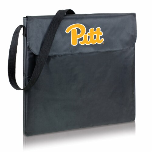 Pitt Panthers - X-Grill Portable Charcoal BBQ Grill Perspective: back