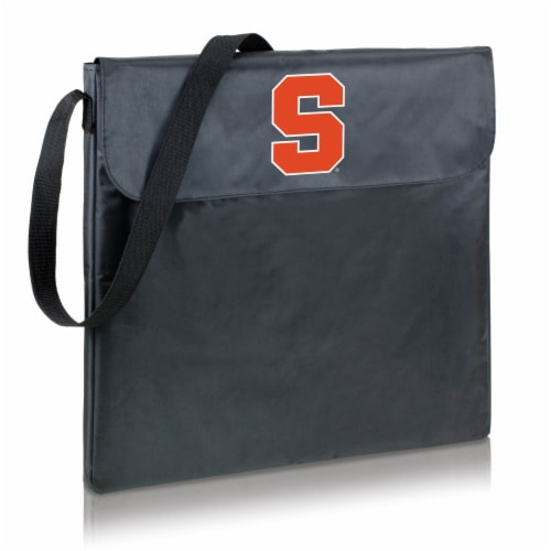 Syracuse Orange - X-Grill Portable Charcoal BBQ Grill Perspective: back