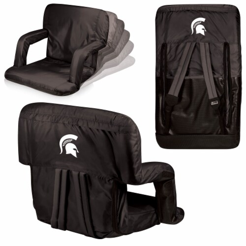 Michigan State Spartans - Ventura Portable Reclining Stadium Seat Perspective: back