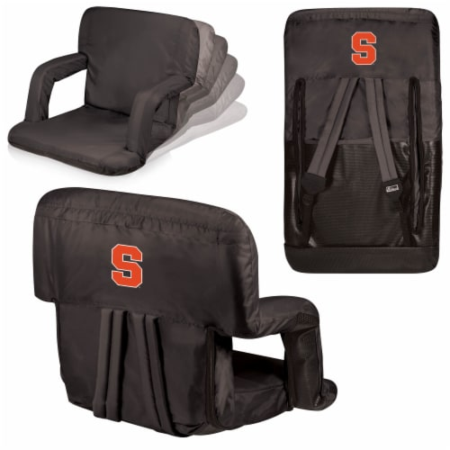 Syracuse Orange - Ventura Portable Reclining Stadium Seat Perspective: back