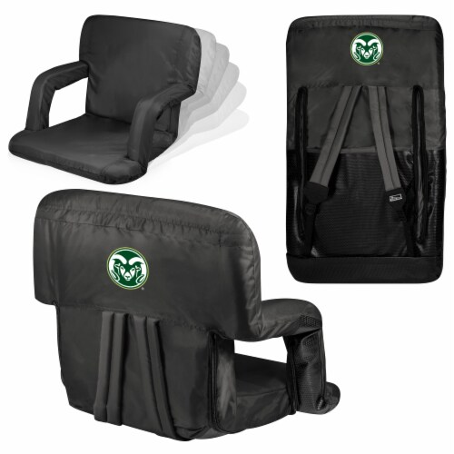 Colorado State Rams - Ventura Portable Reclining Stadium Seat Perspective: back
