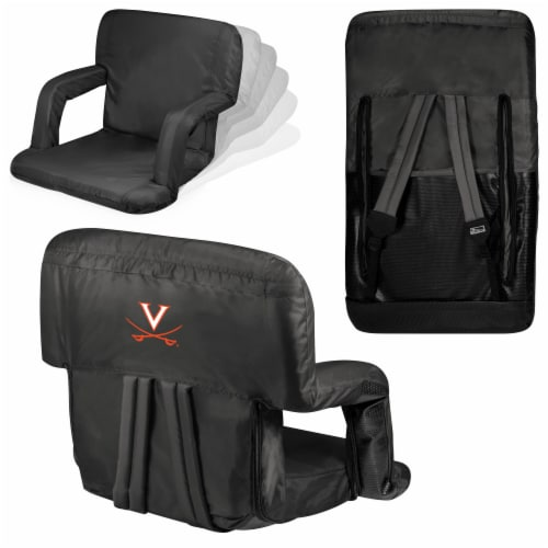 Virginia Cavaliers - Ventura Portable Reclining Stadium Seat Perspective: back
