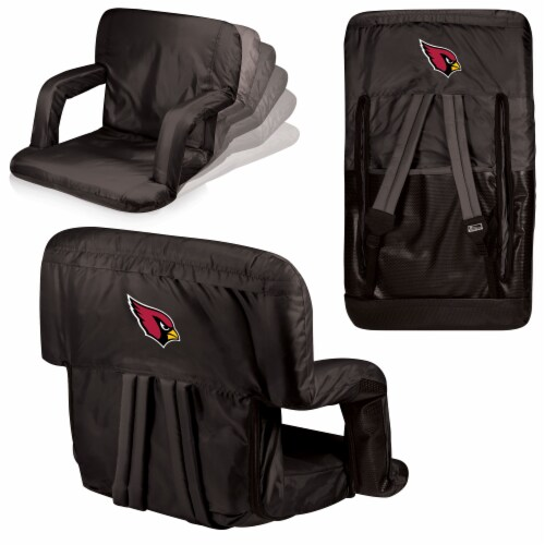 Arizona Cardinals - Ventura Portable Reclining Stadium Seat Perspective: back