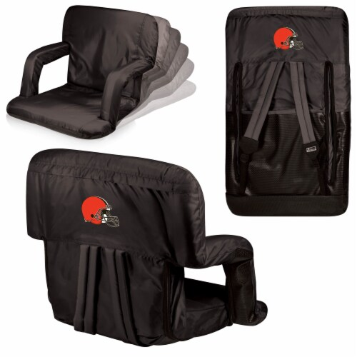 Cleveland Browns - Ventura Portable Reclining Stadium Seat Perspective: back