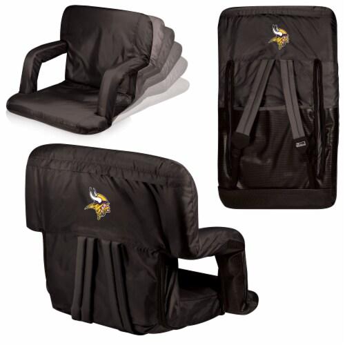 Minnesota Vikings - Ventura Portable Reclining Stadium Seat Perspective: back