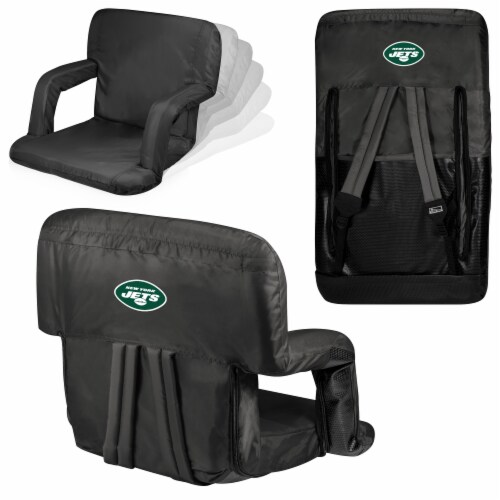 New York Jets - Ventura Portable Reclining Stadium Seat Perspective: back