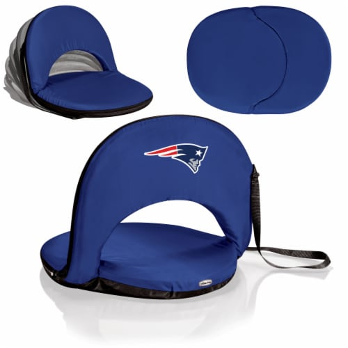 New England Patriots - Oniva Portable Reclining Seat Perspective: back
