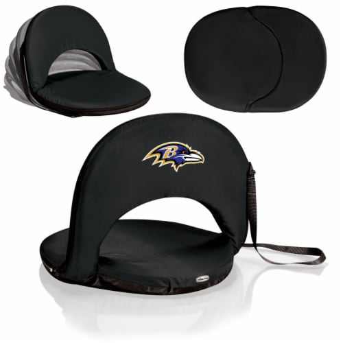 Baltimore Ravens - Oniva Portable Reclining Seat Perspective: back