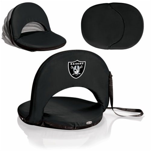 Las Vegas Raiders - Oniva Portable Reclining Seat Perspective: back