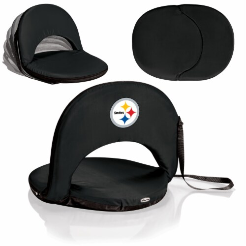 Pittsburgh Steelers - Oniva Portable Reclining Seat Perspective: back