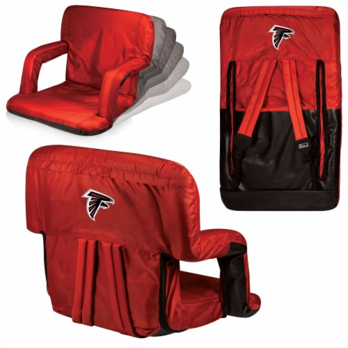 Atlanta Falcons - Ventura Portable Reclining Stadium Seat Perspective: back