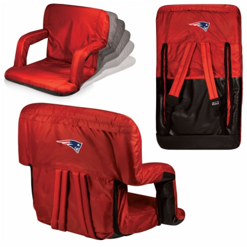 New England Patriots - Ventura Portable Reclining Stadium Seat Perspective: back