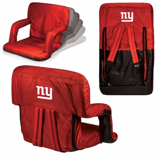 New York Giants - Ventura Portable Reclining Stadium Seat Perspective: back